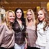 Jamie Dorros, Amy Baier, Sharon Bradley, Jocelyn Greenan. Elie Tahari Opening. Photo © Tony Powell. April 27, 2011