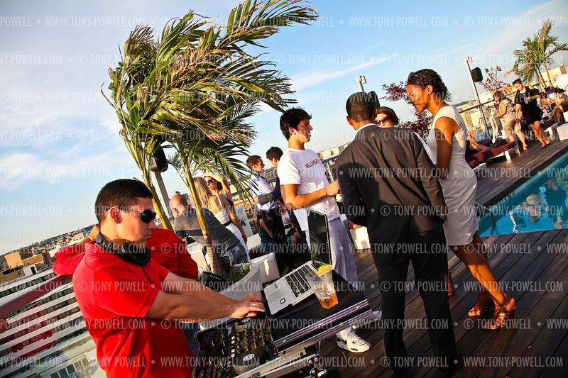 Photo © Tony Powell. Freddie Wyatt Birthday Party. Donovan House Rooftop. June 30, 2011